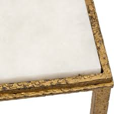 Square Accent Table Hammered Gold Square Table Joie De Vivre Living Room Room Ideas