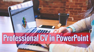 Professional Resume Help How To Make Professional Cv In Powerpoint Maksud Hasan