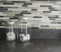 kitchen marble tile peel and stick mosaic square semi gloss black
