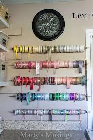 Closet Craft Room - go bold or go home was my motto for my craft room makeover