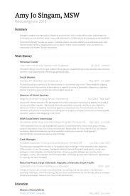 Stay At Home Mom Resume Examples by Personal Trainer Resume Samples Visualcv Resume Samples Database