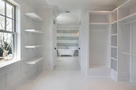 corcoran master bedroom walk through closet with custom built ins