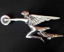 1935 packard ornament silver goddess of speed curiosity