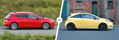 vauxhall astra 2001 vauxhall astra vs corsa side by side comparison carwow