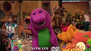 Barney And The Backyard Gang A Day At The Beach Video Barney Let U0027s Go On Vacation 2009 Clip Barney Sings
