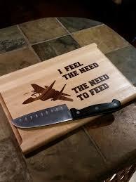 funny cutting boards future house warming gift for lauren 9x13 chop gun funny cutting