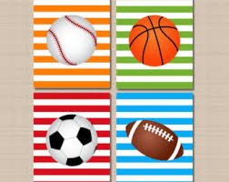 sports room decor etsy