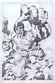 jack kirby quote jack kirby classic hulk pin up in rob pistella u0027s sold or traded
