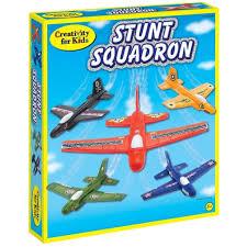 creativity for kids stunt squadron craft kits