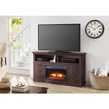 inspirations corner electric fireplace tv stand corner fireplace