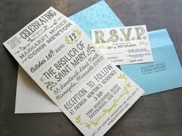 tri fold wedding invitations custom beast pieces