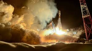 soyuz 2 1b blasts off from plesetsk with latest glonass m
