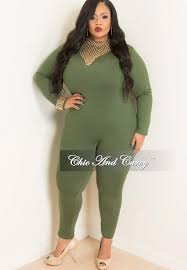 bodysuit jumpsuit sale plus size sleeve bodysuit jumpsuit in olive green