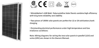 200 watt 200w solar panel kit with lcd solar controller 12 24v rv