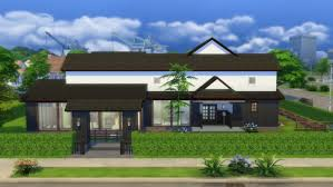 japanese style house 22 by masaharu777 at mod the sims sims 4