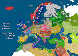 Holy Roman Empire Map Europe 1500 The Oxymoron Holy Roman Empire Reich I Bright Map Of