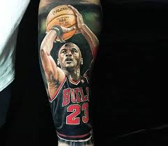 basketball hashtag tattoo