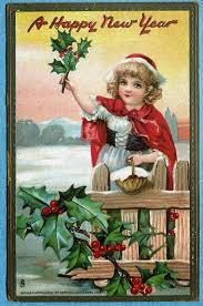 new year s postcards and beautiful vintage new year s postcards vintage everyday