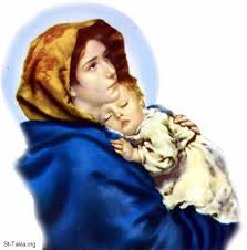 mary with baby jesus pictures