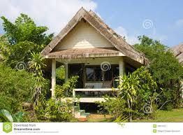 Exotic Beach Houses Tropical Beach House Stock Image Image Of Exotic Coast 25611557