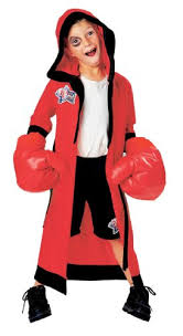 Boxer Halloween Costume Lil Champ Boxer Halloween Costume Dress Up With Inflatable Gloves