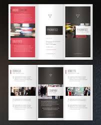 2 fold brochure template free a minimalist 8 5 x 5 5 corporate tri fold brochure the