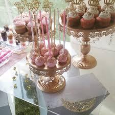dessert mariage or de mariage dessert plateau gâteau stands cupcake pan supply