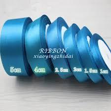 teal satin ribbon teal color ribbon promotion shop for promotional teal color ribbon