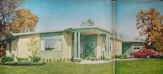 1950s ranch exterior mid mod dream house pinterest ranch