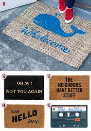 Humorous Doormats Knock Knock 15 Clever Doormats At Home In Love