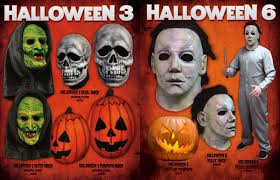 Horror Movie Halloween Masks Trick Or Treat Studios Announces New U0027halloween U0027 Franchise Masks