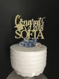 graduation cake toppers personalized graduation cake topper congrats grad cake