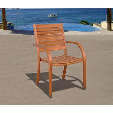 Wooden Outdoor Lounge Furniture Eucalyptus Wood Outdoor Lounge Chairs Patio Chairs The Home