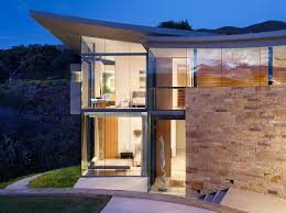 architecture amazing beach house otter cove residence designed in
