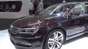 volkswagen phaeton 2014 vw phaeton exclusive at geneva motor show 2014 automototv youtube