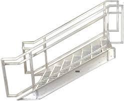 aluminum boca prefab stairways commercial stair galvanized