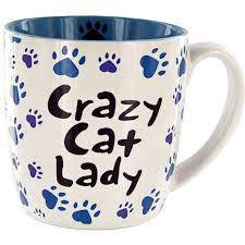crazy cat lady grande mug the animal rescue site