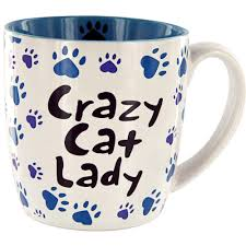animal shaped mugs crazy cat lady grande mug the animal rescue site