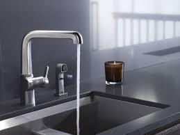 kohler k 6331 cp evoke single control pullout kitchen faucet