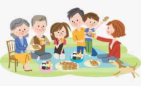family gathering extended family get together png and vector