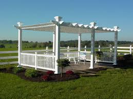 pergola kits are a popular new product with homeowners