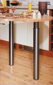 pied de table de cuisine pied de table réglable oe120 mm achat vente de pieds et supports