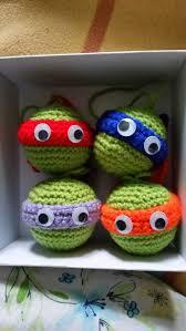 ornaments mutant turtles