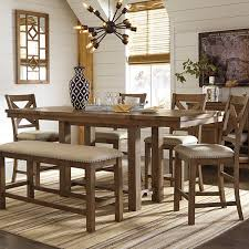 jcpenney dining room sets signature design by ashley krinden counter height table jcpenney
