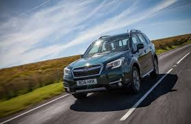 green subaru forester subaru announces special edition forester for the uk