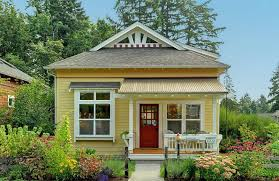 beautiful small home interiors beautiful small house wood yellow wall design homes alternative