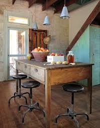 vintage kitchen islands a blend of with vintage style rustic decor