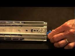 drawer slide locking mechanism heavy duty bal bearing drawer slides lock in lock out feature