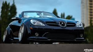 bagged mercedes wagon gettinlow hadi prasetio bagged 2004 mercedes benz slk r171