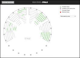 roundhouse where can i find a seating plan